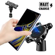 TSV Magnetic Fast Qi Wireless Car Mount Charger For iPhone 11/11 Pro X Samsung Note 9 S9 S10 Plus