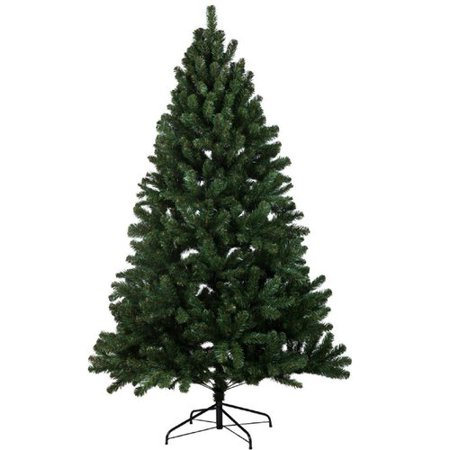 Intrinsic Spruce Green (The Holiday Aisle 7' Green Spruce Tree Artificial Christmas Tree )
