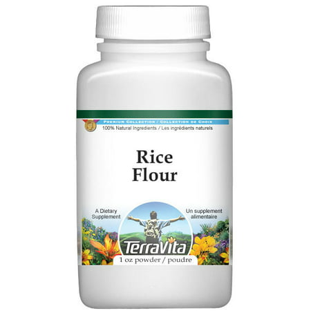 Rice Flour Powder (1 oz, ZIN: 521316) - 2-Pack (Difference Between Rice Flour And Rice Powder)