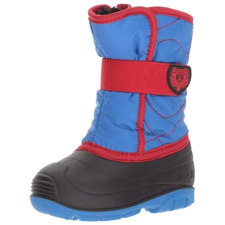 Kamik Toddler Snow Boots (Kamik Snowbug3 Toddler Strong Blue/Red Snow Boot 7M)