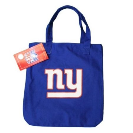 NFL New York City NY Giants Logo Ladyluck Tote Bag NYC Shoulder Canvas Shopping Nfl Canvas Tailgate Tote