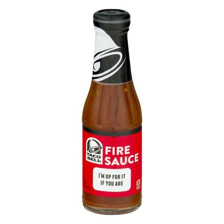 Taco Bell Fire Sauce, 7.5 OZ