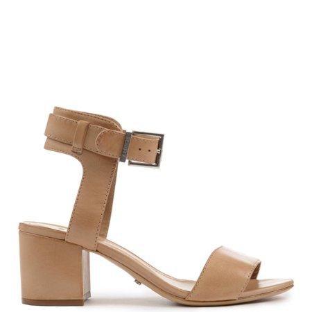 525614d848b Schutz - schutz Estelamaris Light Wood Nude Low Block Heel City Casual  Ankle Strap Sandal (5) - Walmart.com