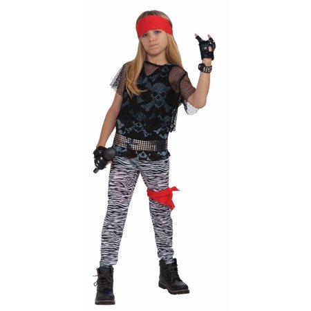 Halloween Child 80's Rock Star Child Costume](Rock City Halloween)