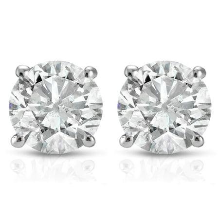 1.25 Ct Certified Diamond - CERTIFIED BRAND NEW 2.50 CT F/VS2 DIAMOND STUD EARRINGS in 14K WHITE GOLD