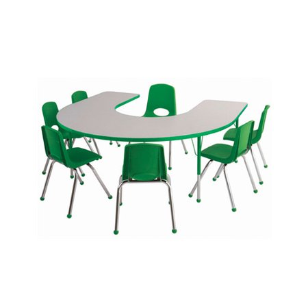 Ecr4Kids Horseshoe Activity Table Chair Set