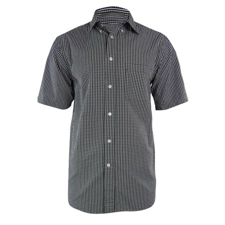 Daniel Cremieux Signature Collection Men's Check Seersucker Shirt (S,