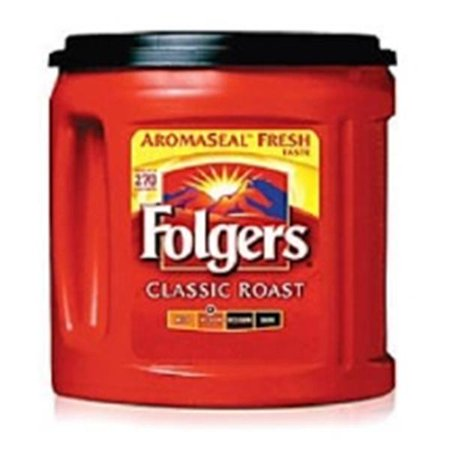 Wp000 976695 976695 976695 Coffee Folgers Classic Roast 33 9Oz Ea From Office Depot