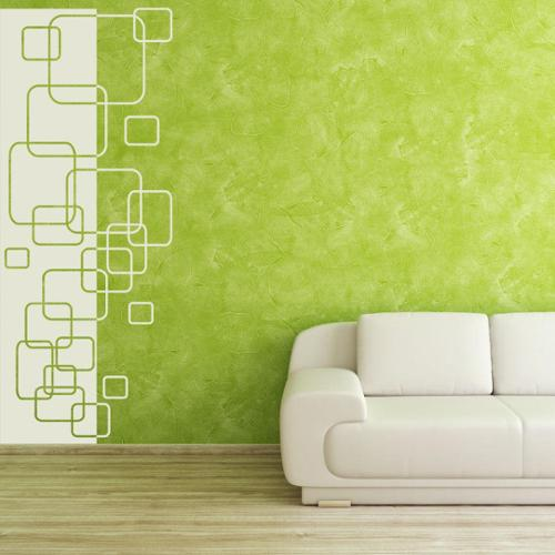 Style and Apply Polygon Decorative Strip Wall Decal
