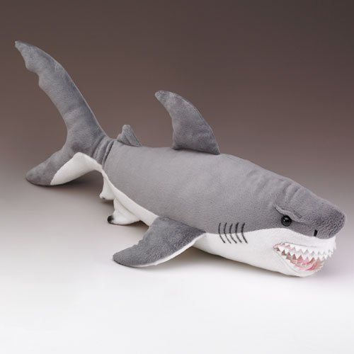 Wildlife Artists Great White Shark Stuffed Animal X Large Walmart Com