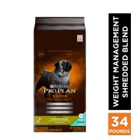 Purina Pro Plan Weight Management Dry Dog Food; SAVOR Shredded Blend Weight Management Formula (Various Sizes)