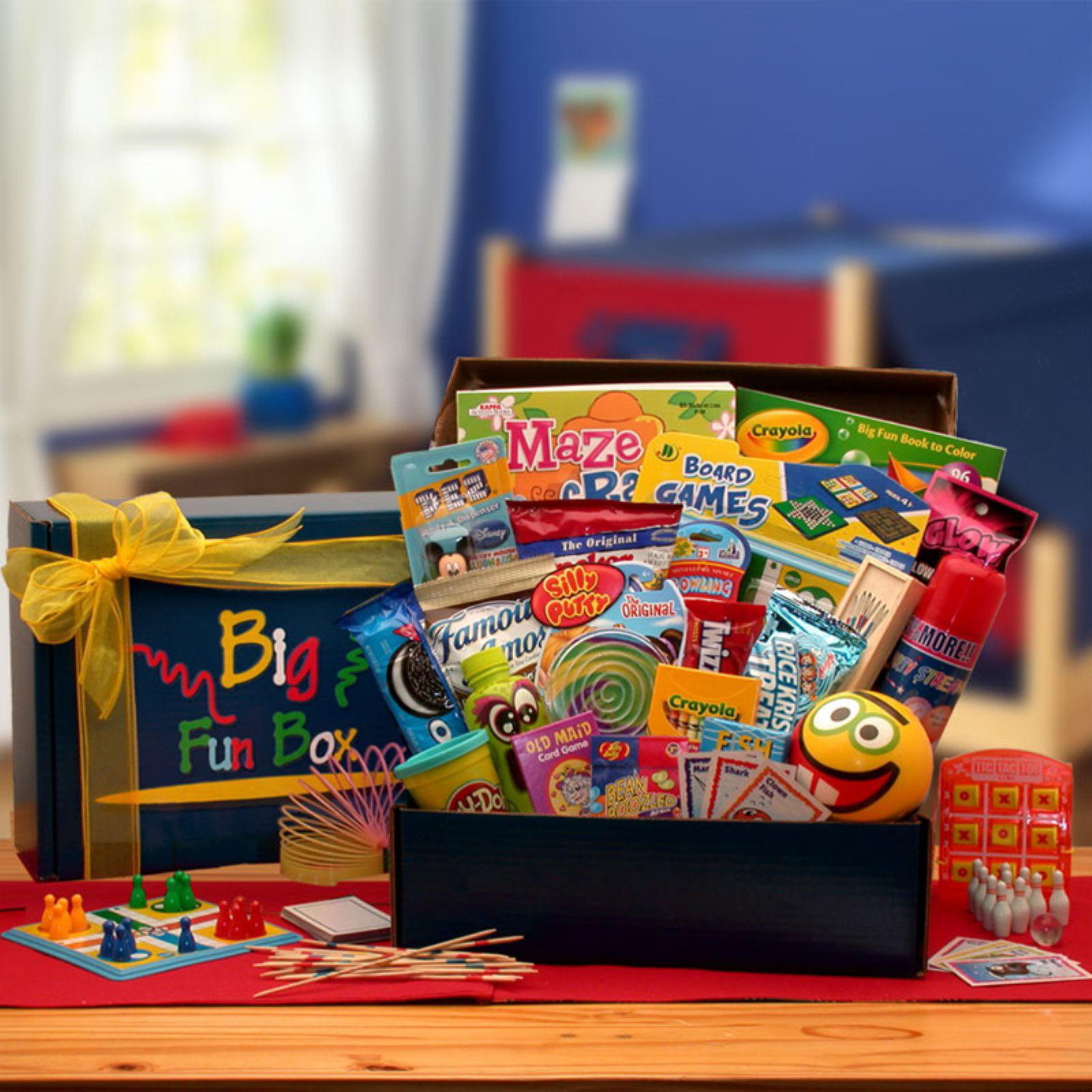 Gift Basket Drop Shipping The Big Fun Kids Box