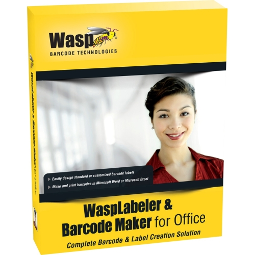 Wasp WaspLabeler & Barcode Maker for Office - License - 10 User - Standard - PC