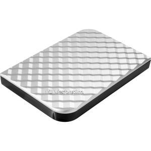 Verbatim Store 'n' Go 1 TB External Hard Drive - USB 3.0 - Portable - Diamond Silver PORTABLE HARD USB 3.0 SILVER