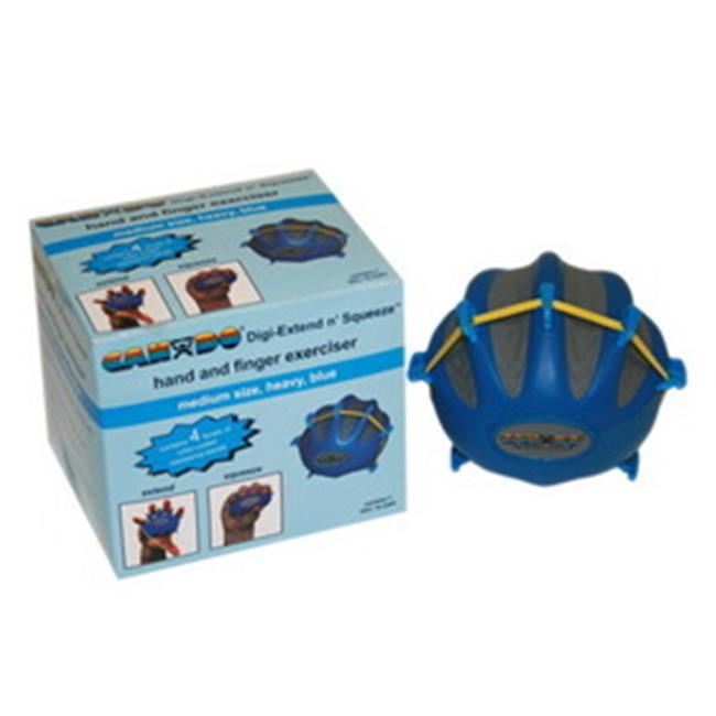 Fabrication Enterprises 10-2293 Cando Digi-Extend N squeeze Exerciser, Heavy, Blue - Large