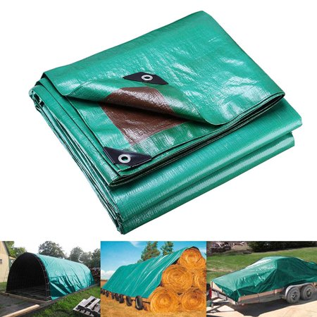 - Yescom 7 Mil Heavy Duty Reinforced Poly Tarp Waterproof Tarpaulin Ground Sheet Outdoor Camping Tent Cover Size Opt