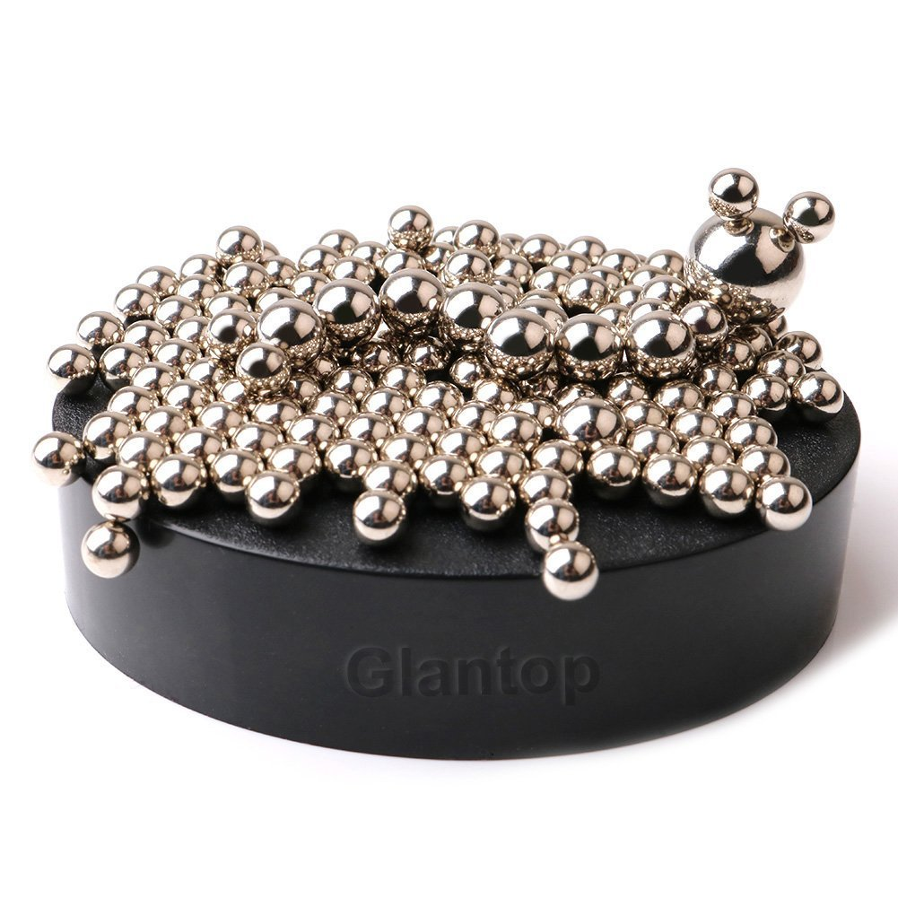 Magnetic Sculpture Desk Toy For Intelligence Development And Stress Relief Set Of 160 1 Magnet Base