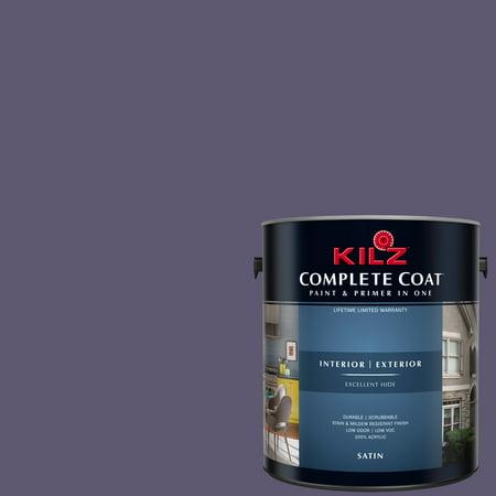 Primera Wine (KILZ COMPLETE COAT Interior/Exterior Paint & Primer in One #RA290-02 Wine)