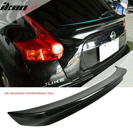 Fits 15-17 Nissan Juke F15 IKON Style Carbon Fiber (CF) Trunk Spoiler Wing Csl Style Carbon Fiber Trunk