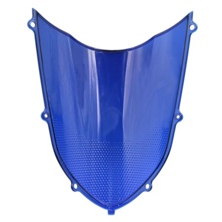 Unique Bargains Blue ABS Plastic Motorcycle Windshield Windscreen for Kawasaki ZX10R 2004-2005 - image 1 de 3