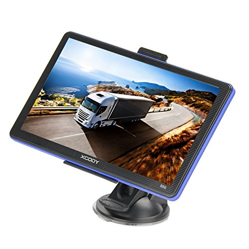Xgody 886 7'' 8GB Capacitive Touchscreen SAT NAV Car Truck GPS Navigation System
