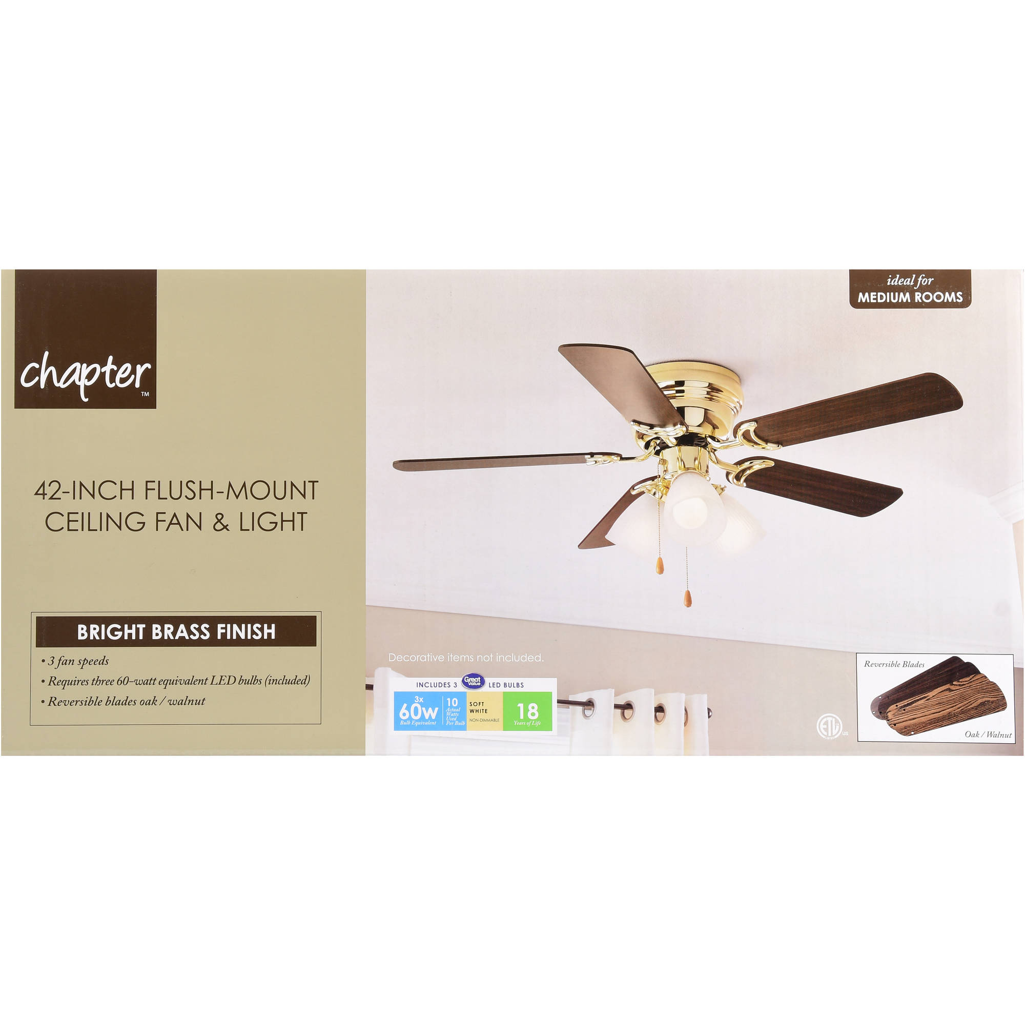 product ceiling home inch clear blade finish garden glass fans regular free today bulbs shipping with fan josalie overstock light brown