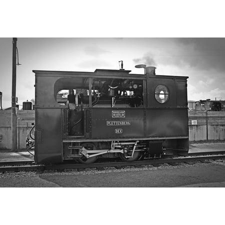 LAMINATED POSTER Box Steam Locomotive Steam Locomotive Loco Poster Print 24 x 36