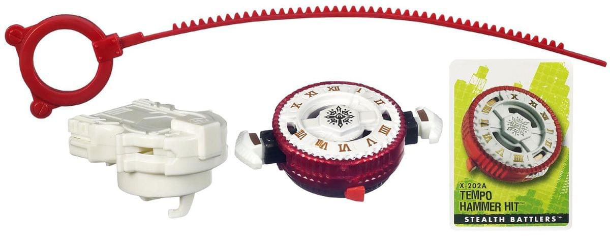 Beyblade Metal Fusion Stealth Battlers X-202A Tempo Hammer ...