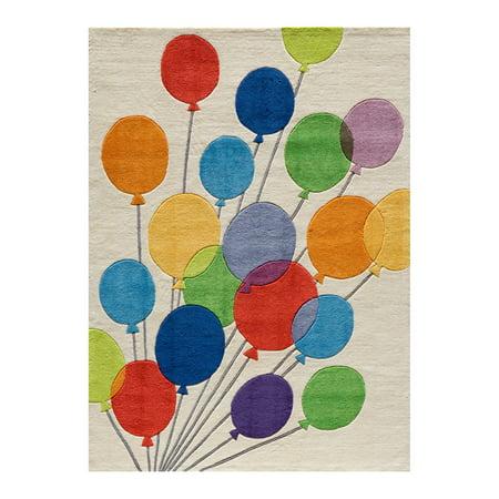 Momeni Lil Mo Whimsy Balloons Area Rug