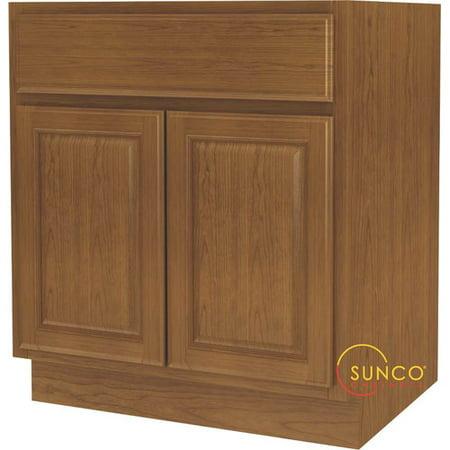Sunco Inc. 35.01'' x 30'' Kitchen Base Cabinet (Kitchen Sink Base Cabinet)