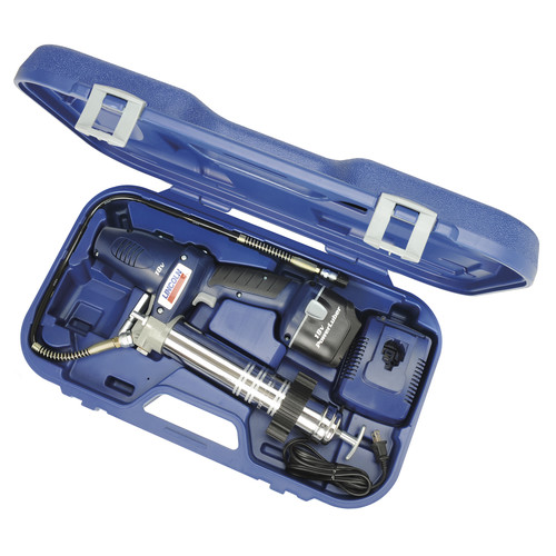 Lincoln Industrial 1842 PowerLuber 18V Cordless Two-Speed Grease Gun Kit