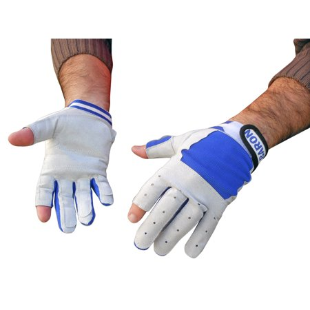 Marine Sailing Yachting Gloves For Boats Size M 2 Fingers Cut