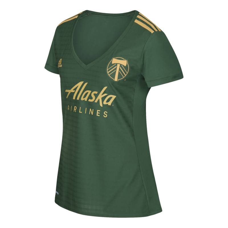 Portland Timbers MLS Womens Primary Replica Jersey (Green)