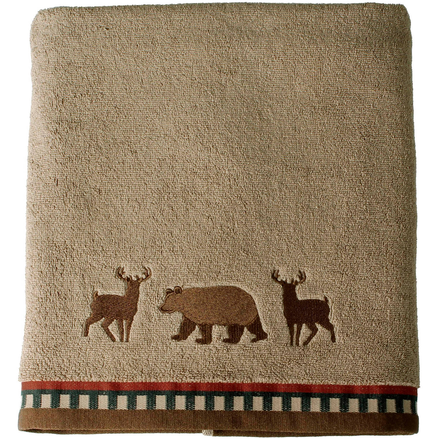 Better Homes and Gardens Deer Stripe Bath Collection