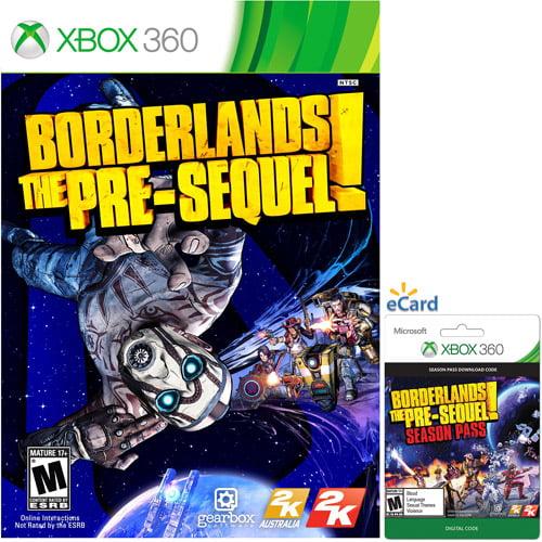 Borderlands: The Pre-Sequel Game and Season Pass (Xbox 360)