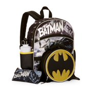 Batman 5-Piece Backpack Set With Lunch Bag