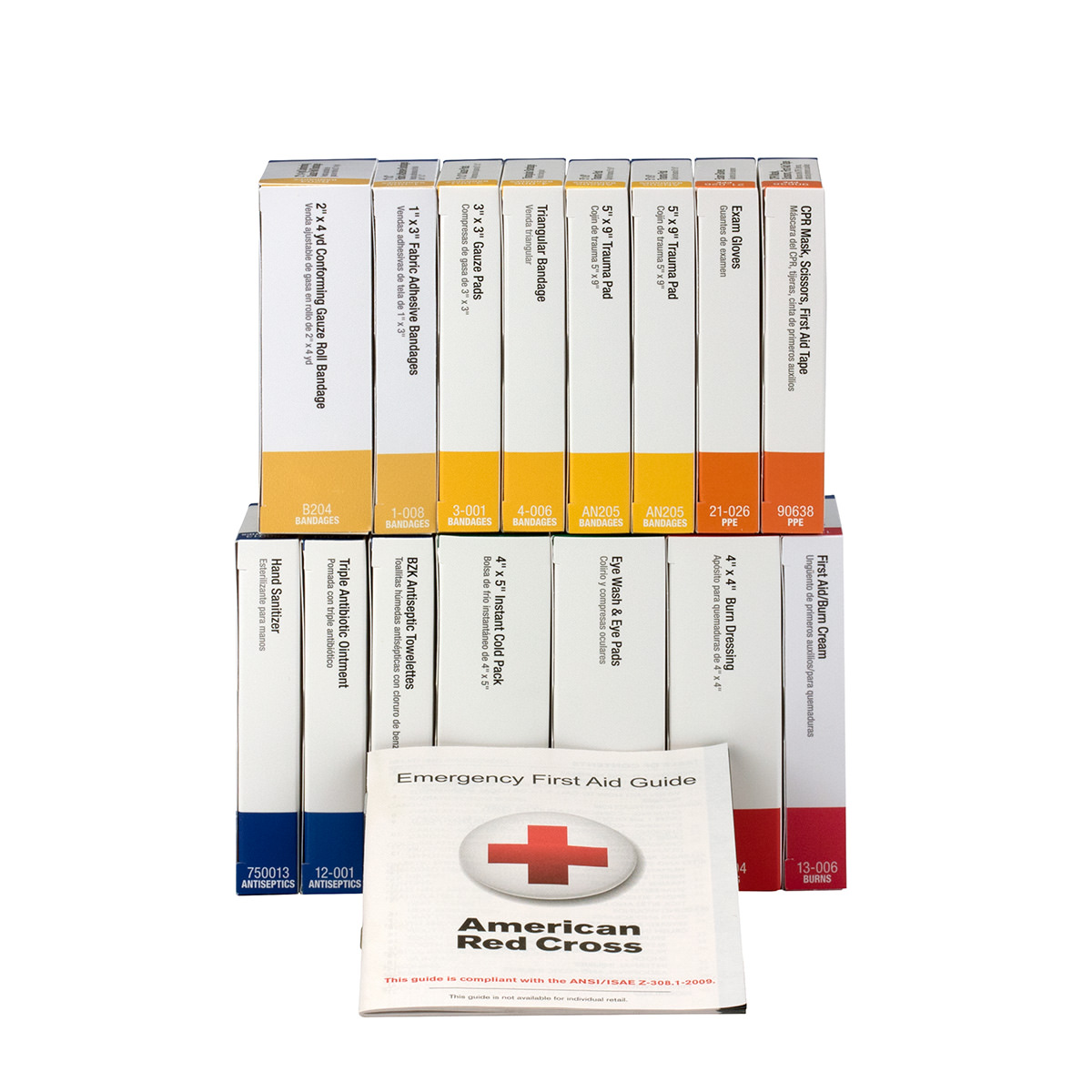 First Aid Only 25 Person ANSI A Refill, 16 Unit, 84 Pc
