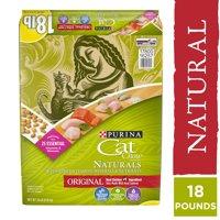 18-lb Purina Cat Chow Natural Dry Cat Food, Naturals Original