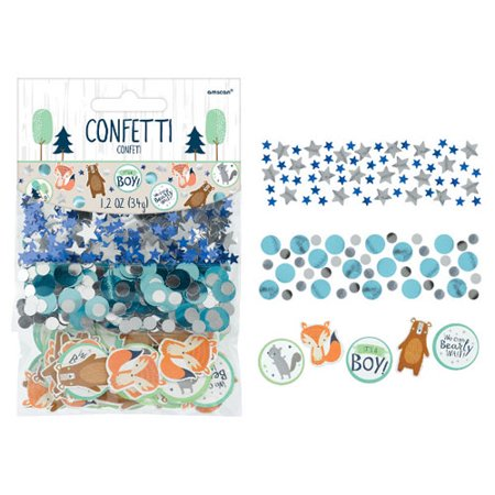 Baby Shower 'We Can Bear-ly Wait' Confetti Value Pack (3