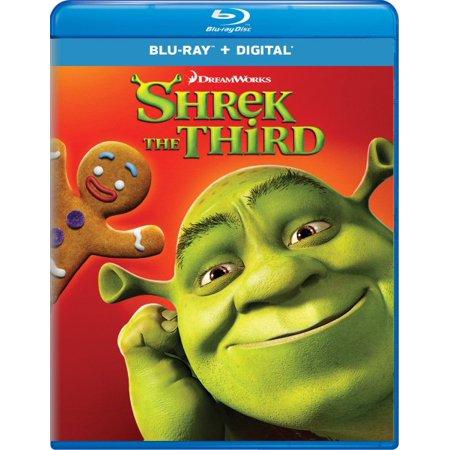SHREK THE THIRD - Halloween Shrek Dvd