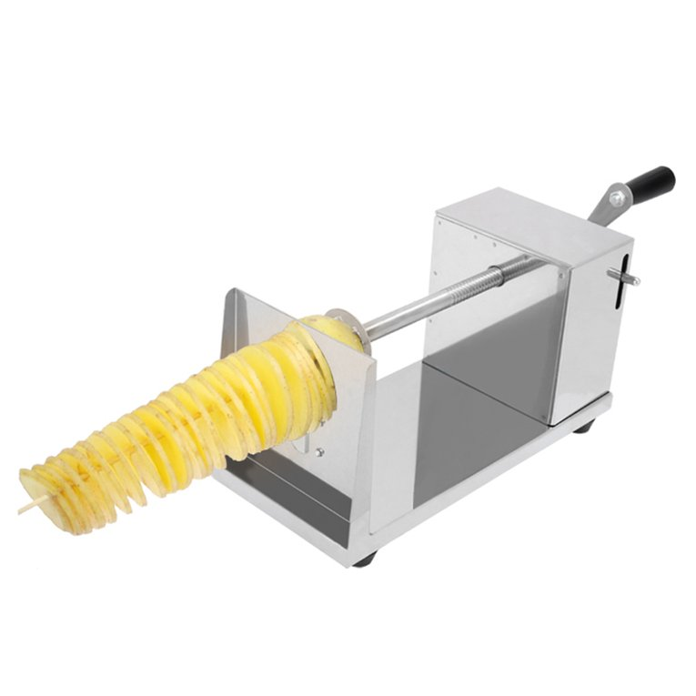 Manual Stainless Steel Twisted Potato Slicer French Fry V...