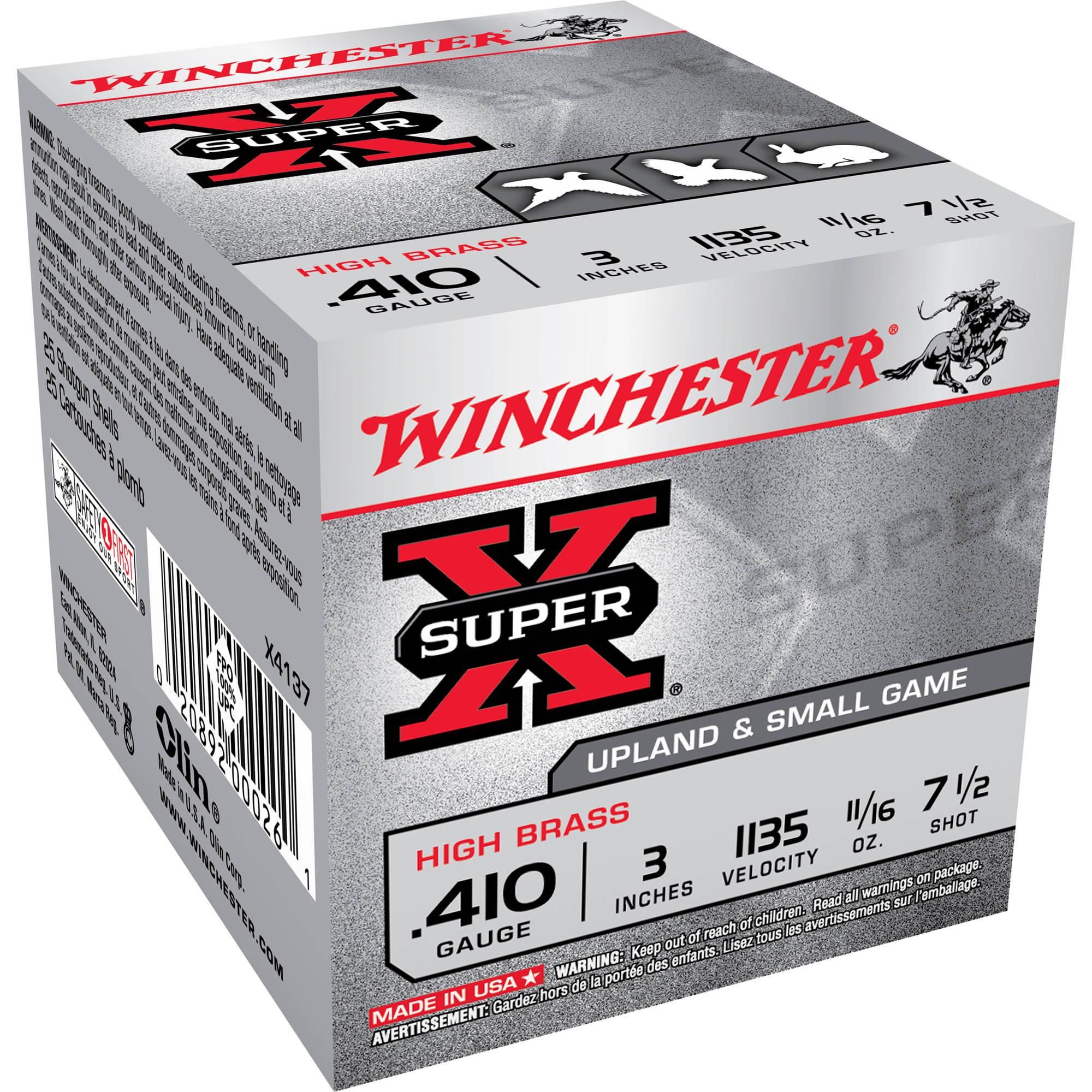 Winchester Super X 410 Caliber Ammo