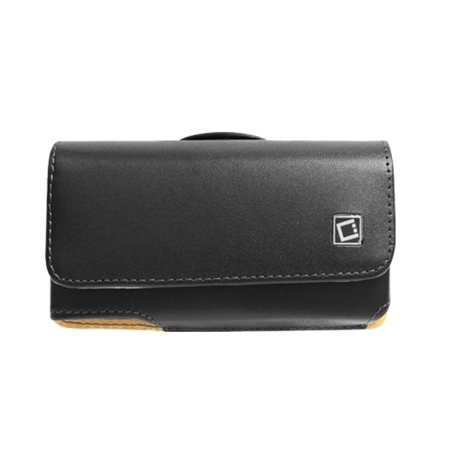Cellet Horizontal Noble Leather Case for iPhone 5 / 5S / 5C - Black