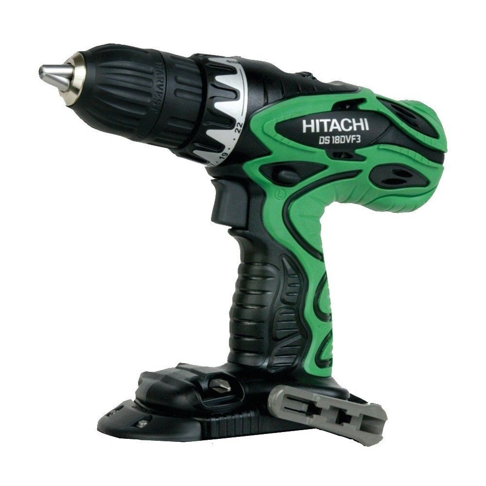 HITACHI DS18DVF3 TOOL ONLY  (No Battery or Charger) Factory Reconditioned 18 Volt Cordless Drill Driver