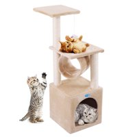 "Jaxpety 36"" Cat Tree Condo Furniture Play Toy Kitten Pet House"