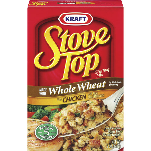 Kraft: Made With Whole Wheat For Chicken With Real Chicken Broth Stove Top Stuffing Mix, 5 Oz