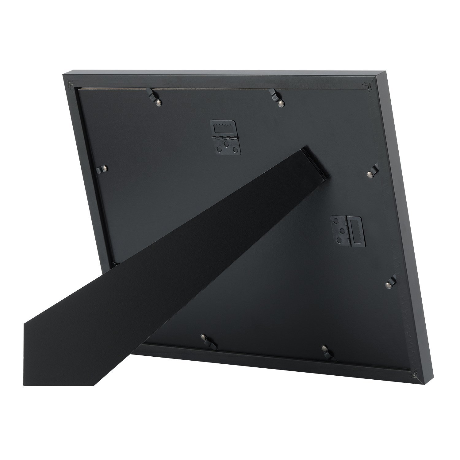 Upgraded Tempered Glass 11x14 Document Frame Black with 1 Mat for ...