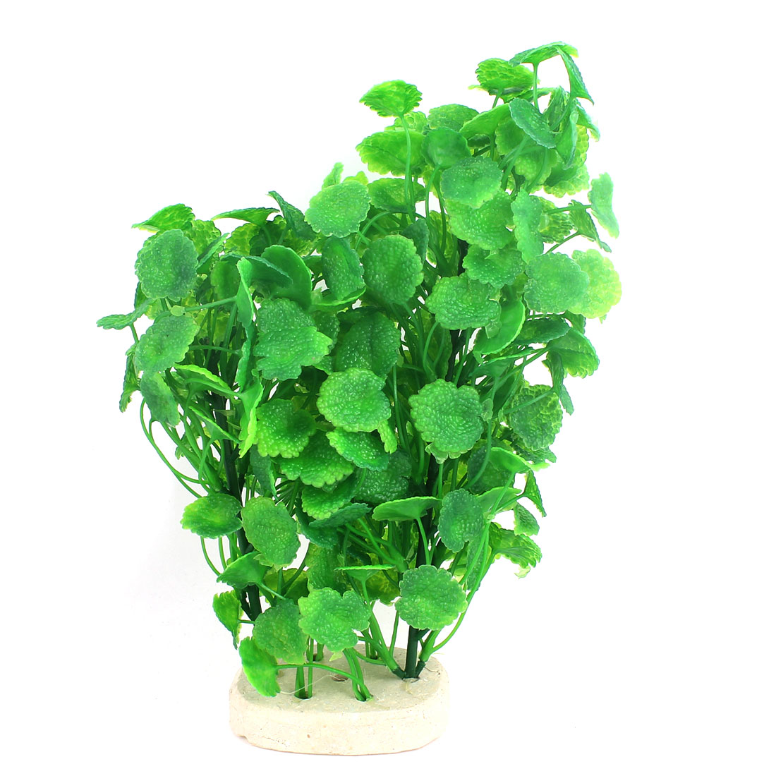 Aquarium Fish Tank Plastic Artificial Underwater Water Plant Ornament 9 Inch