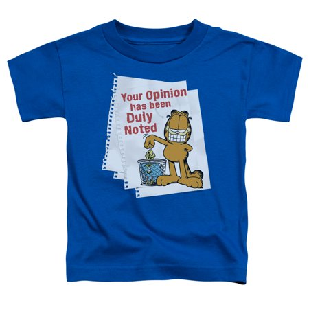 Garfield - Duly Noted - Toddler Short Sleeve Shirt - 3T - Garfield's Halloween