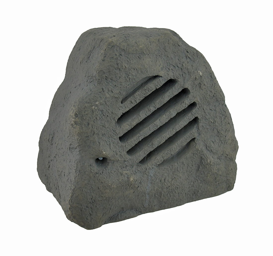 Weather Resistant Outdoor Rock Shaped 2 Way Speaker 8 in.